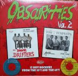 "10"" / VA  ✦✦ OBSCURITIES Vol. 2 ✦✦ 12 Hot Rockers From The 50s And The 60s"
